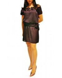 Vestido mejicano liso