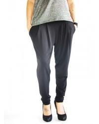 Pantalon liso pliegues